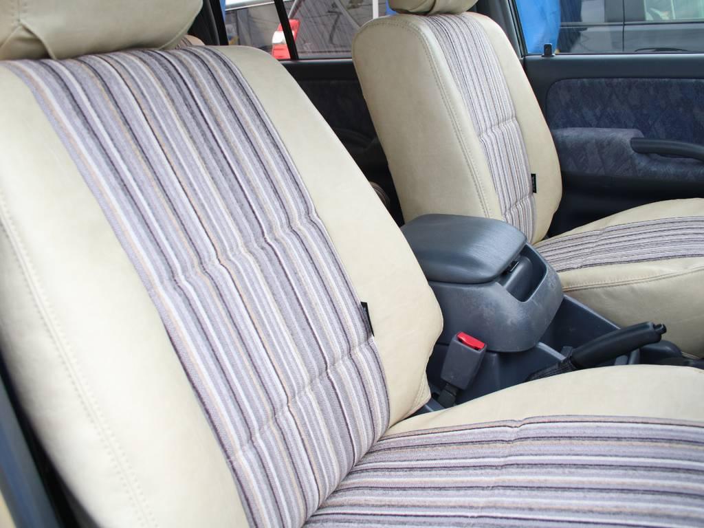 運転席は目立つヘタりなくキレイに保たれております☆ | トヨタ ランドクルーザープラド 2.7 TX リミテッド 4WD