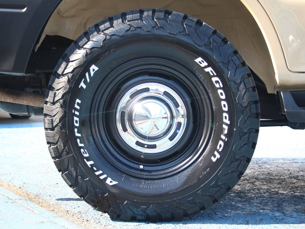 新品DEAN16インチAW☆新品BFG235KO2タイヤ☆ | トヨタ ランドクルーザープラド 2.7 TX リミテッド 4WD