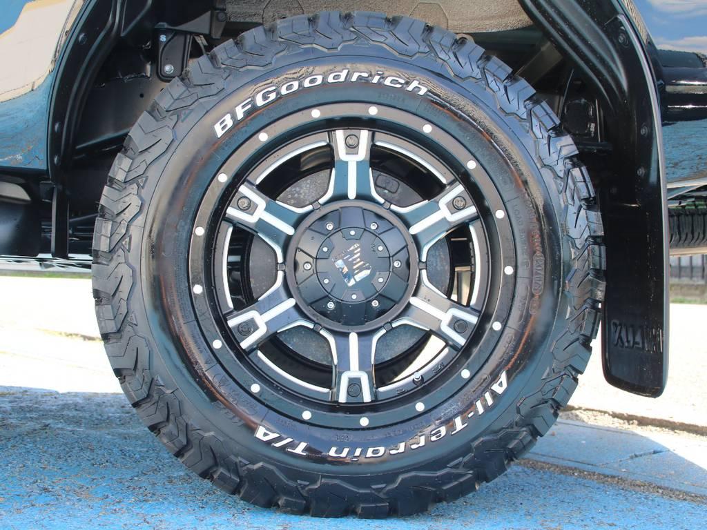 新品LEXXEL17インチAW☆新品BFG265KO2タイヤ☆ | トヨタ ハイラックス 2.4 Z ディーゼルターボ 4WD Z