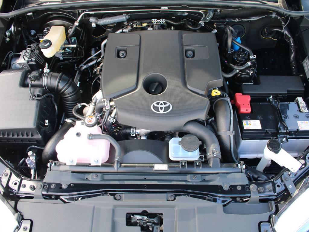 エンジンも新車なので快調☆末永くお乗り頂けます☆ | トヨタ ハイラックス 2.4 Z ディーゼルターボ 4WD Z