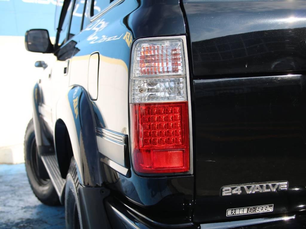 LEDテール☆ | トヨタ ランドクルーザー80 4.5 VXリミテッド 4WD