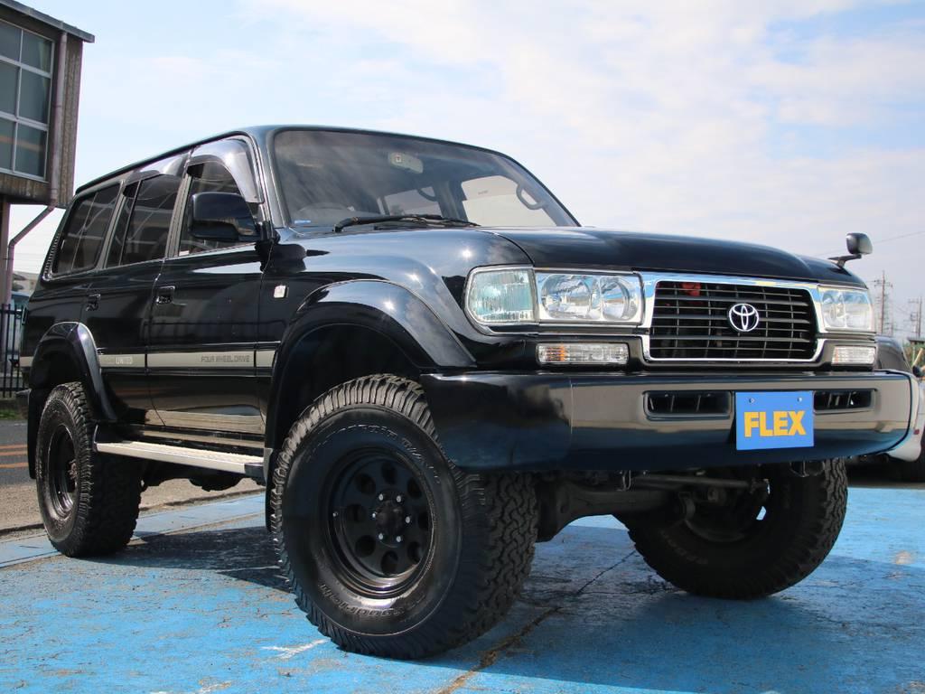 最終型ランクル80、新入庫です☆ | トヨタ ランドクルーザー80 4.5 VXリミテッド 4WD