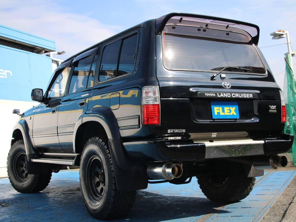 もちろんここからの追加カスタムもご相談下さい☆ | トヨタ ランドクルーザー80 4.5 VXリミテッド 4WD