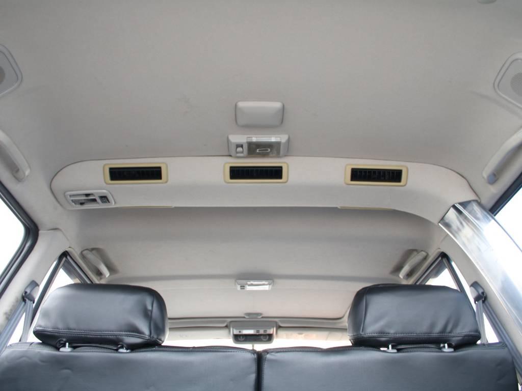 天張りもキレイに保たれております☆ | トヨタ ランドクルーザー80 4.5 VXリミテッド 4WD 最終型 Wエアバック リフトアップ