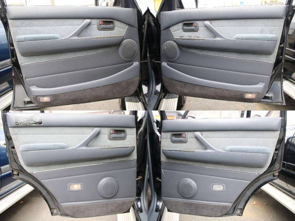 各所ドア内張もキレイに保たれております☆ | トヨタ ランドクルーザー80 4.5 VXリミテッド 4WD 最終型 Wエアバック リフトアップ