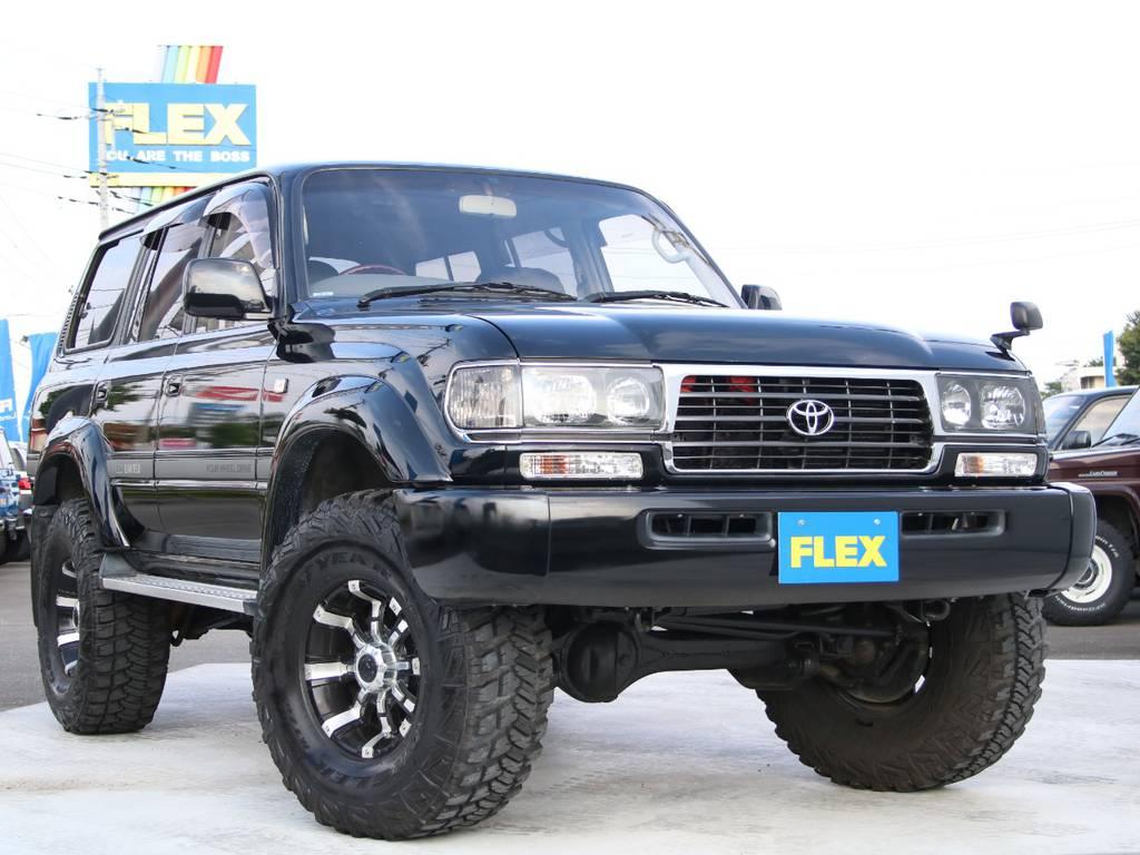 最終型ランクル80、新入庫です☆ | トヨタ ランドクルーザー80 4.5 VXリミテッド 4WD 最終型 Wエアバック リフトアップ