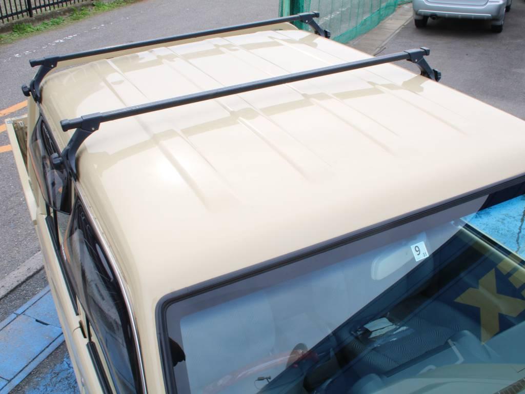ルーフ面もキレイに保たれております☆ | トヨタ ランドクルーザー70ピックアップ 4.0 4WD