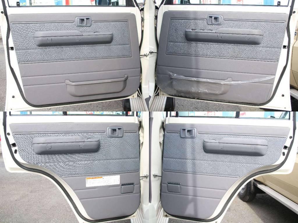 各所ドア内張もキレイに保たれております☆ | トヨタ ランドクルーザー70ピックアップ 4.0 4WD