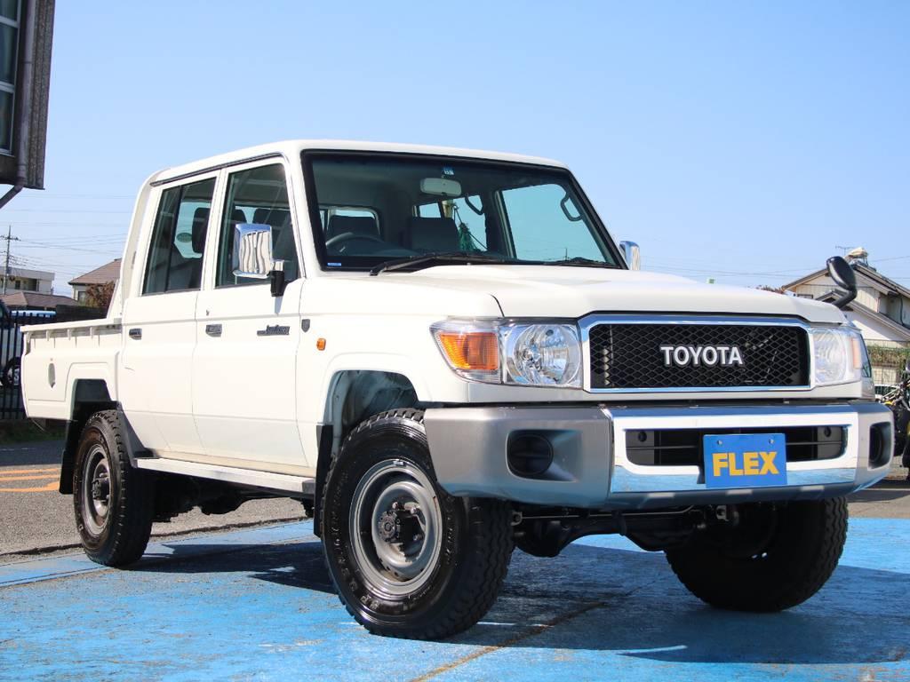 ワンオーナー車☆ピックアップ79新入庫です☆ | トヨタ ランドクルーザー70ピックアップ 4.0 4WD