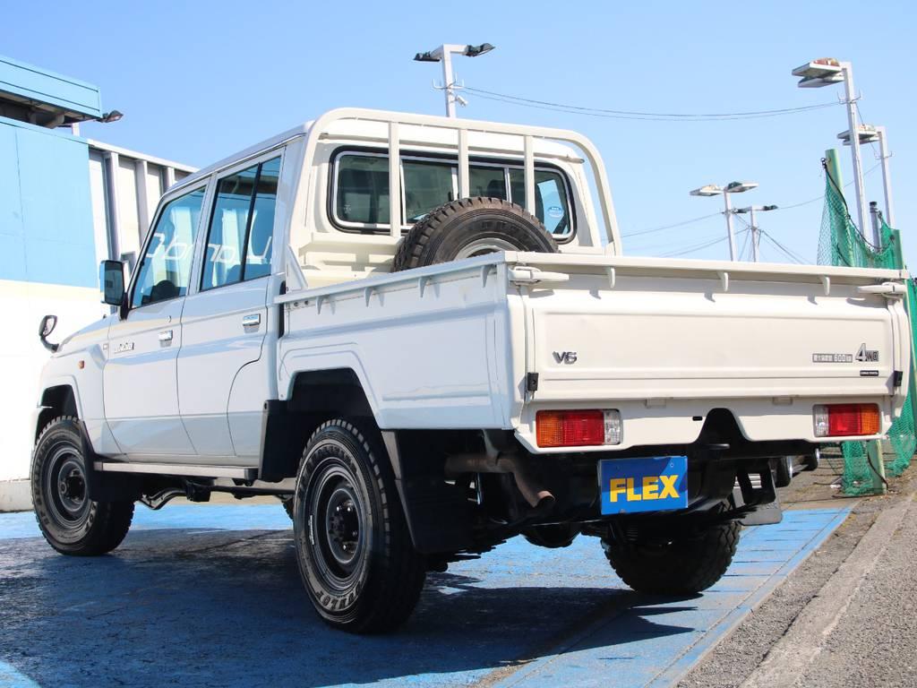 もちろんここからのカスタムもご相談下さい☆ | トヨタ ランドクルーザー70ピックアップ 4.0 4WD