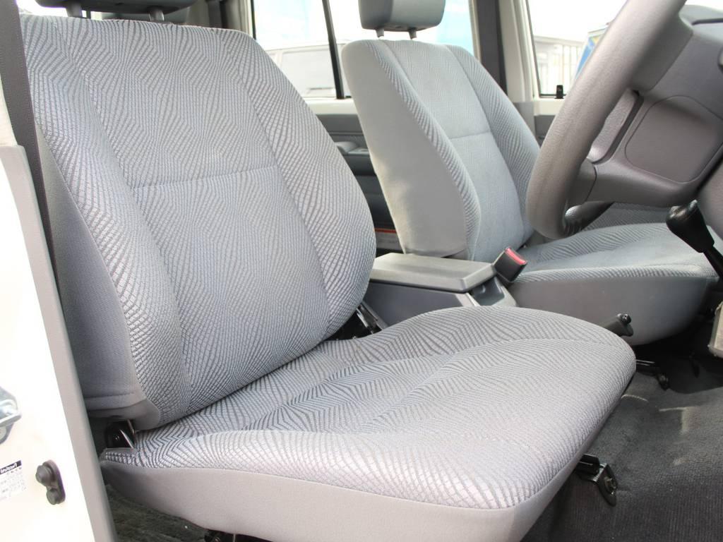 運転席も目立つヘタりなくキレイに保たれております☆ | トヨタ ランドクルーザー70ピックアップ 4.0 4WD