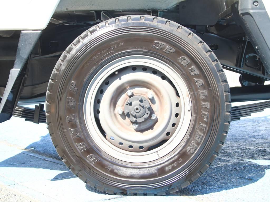 純正17インチホイール☆ | トヨタ ランドクルーザー70ピックアップ 4.0 4WD