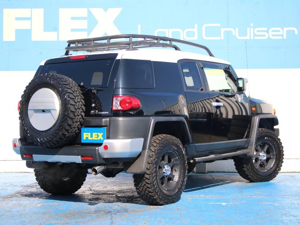 背面タイヤも新品です☆ | 米国トヨタ FJクルーザー コンビニエンスPKG アップグレードⅡ