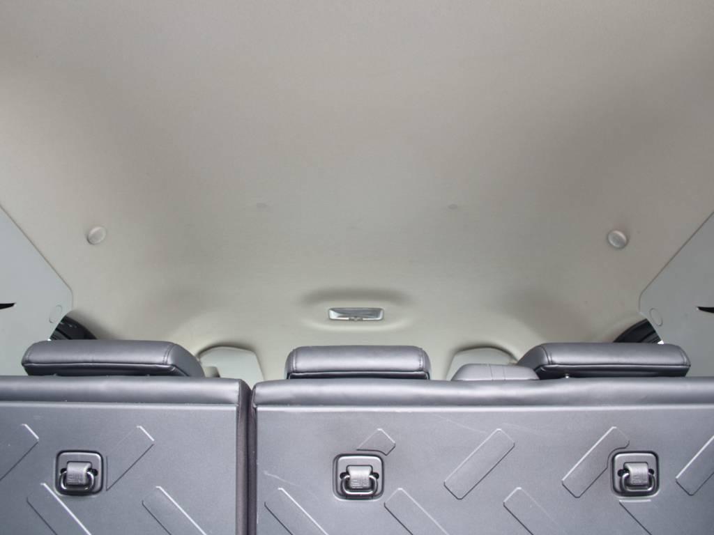 天張りもキレイに保たれております☆ | トヨタ FJクルーザー 4.0 ブラックカラーパッケージ 4WD