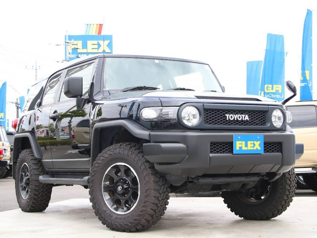 人気グレードブラックカラーパッケージ、新入庫です☆ | トヨタ FJクルーザー 4.0 ブラックカラーパッケージ 4WD