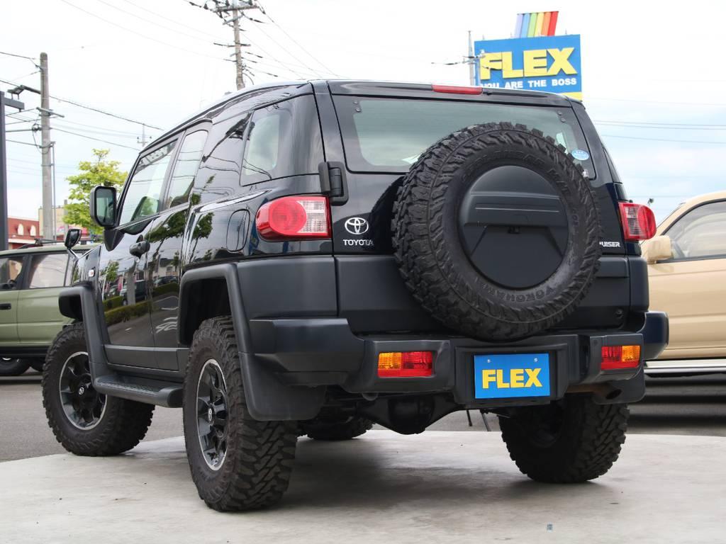 もちろんここからの追加カスタムもご相談下さい☆ | トヨタ FJクルーザー 4.0 ブラックカラーパッケージ 4WD