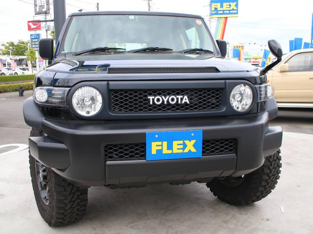迫力のフロントフェイス☆新品LEDフロントウィンカー☆ | トヨタ FJクルーザー 4.0 ブラックカラーパッケージ 4WD