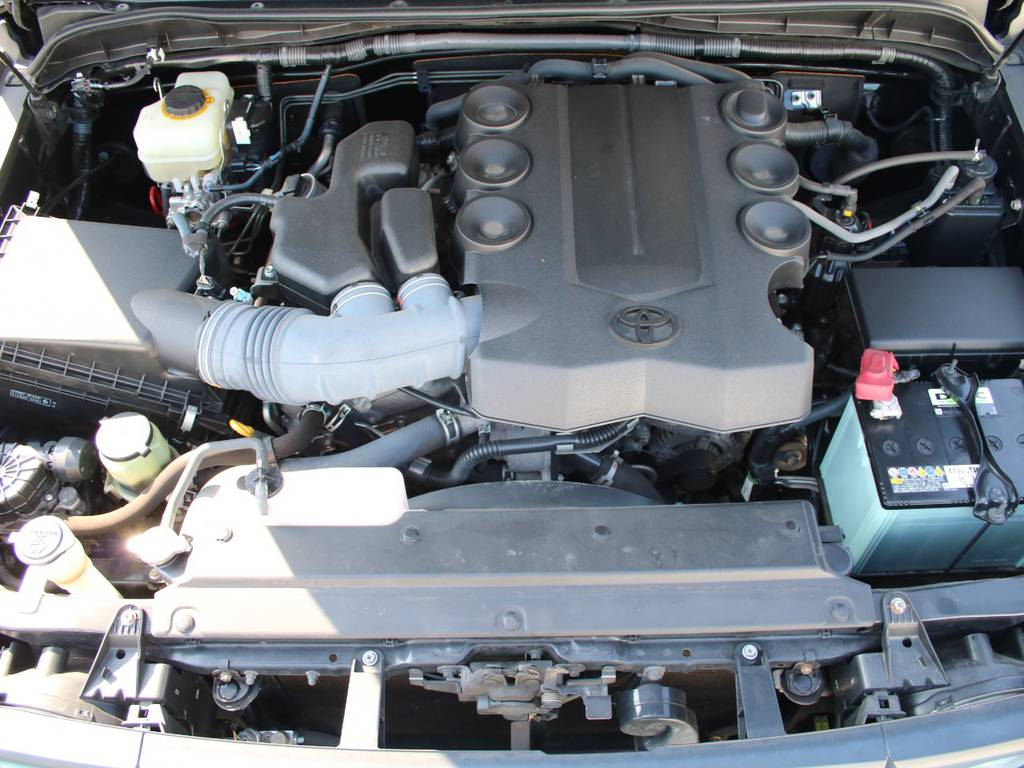 エンジンも快調☆末永くお乗り頂けます☆ | トヨタ FJクルーザー 4.0 ブラックカラーパッケージ 4WD