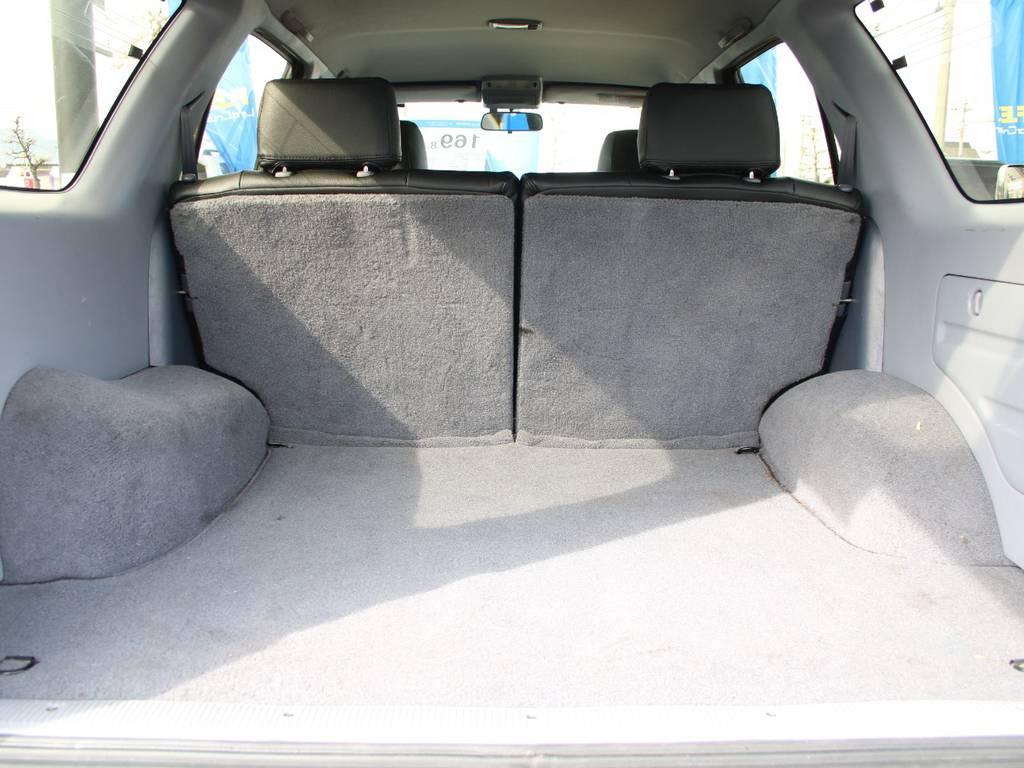 荷室は広々お使い頂けるスペースがございます☆ | トヨタ ハイラックスサーフ 2.7 SSR-X 4WD US仕様