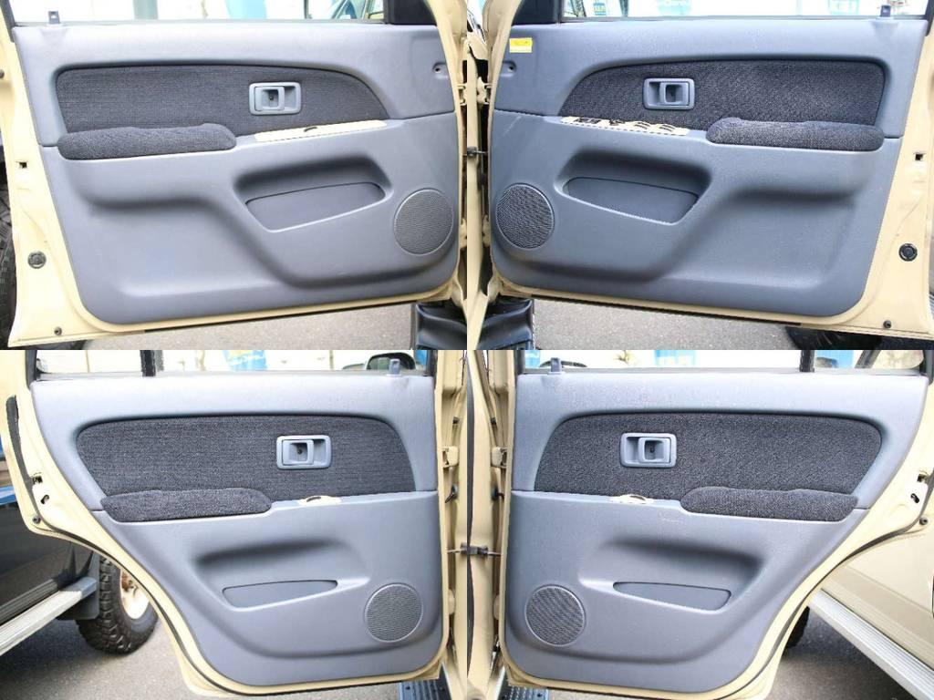 各所ドア内張もキレイに保たれております☆ | トヨタ ハイラックスサーフ 2.7 SSR-X 4WD US仕様