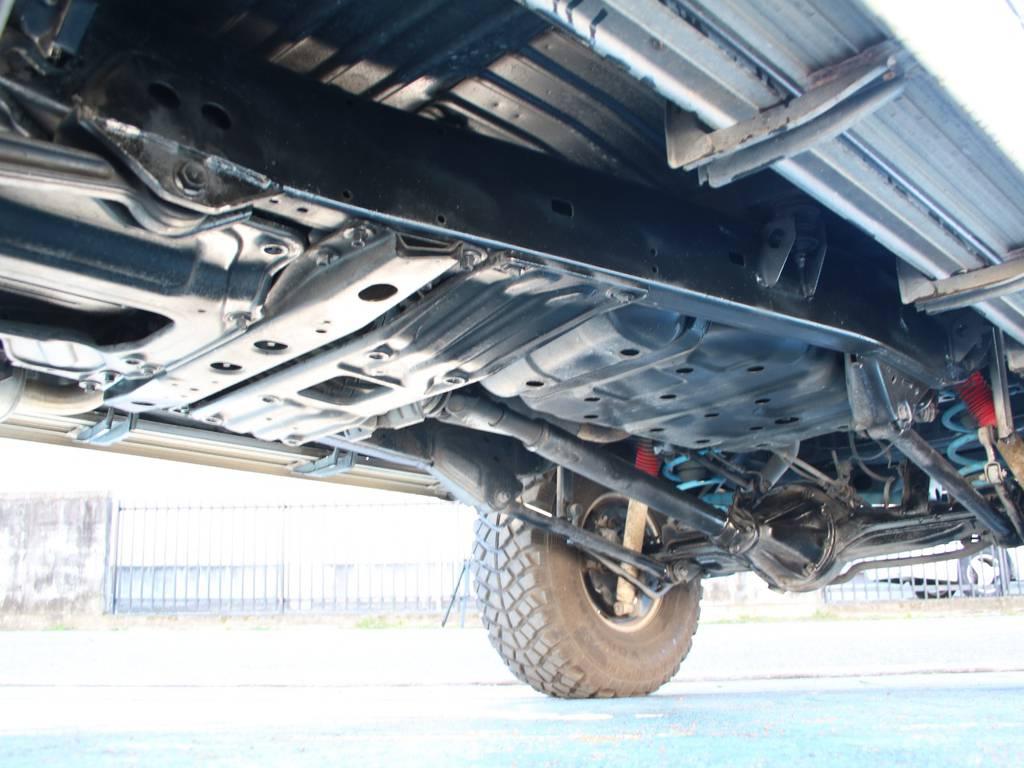 下回りは高圧洗浄後防錆パスターにてキレイに仕上げてあります☆   トヨタ ランドクルーザー80 4.2 VXリミテッド ディーゼルターボ 4WD