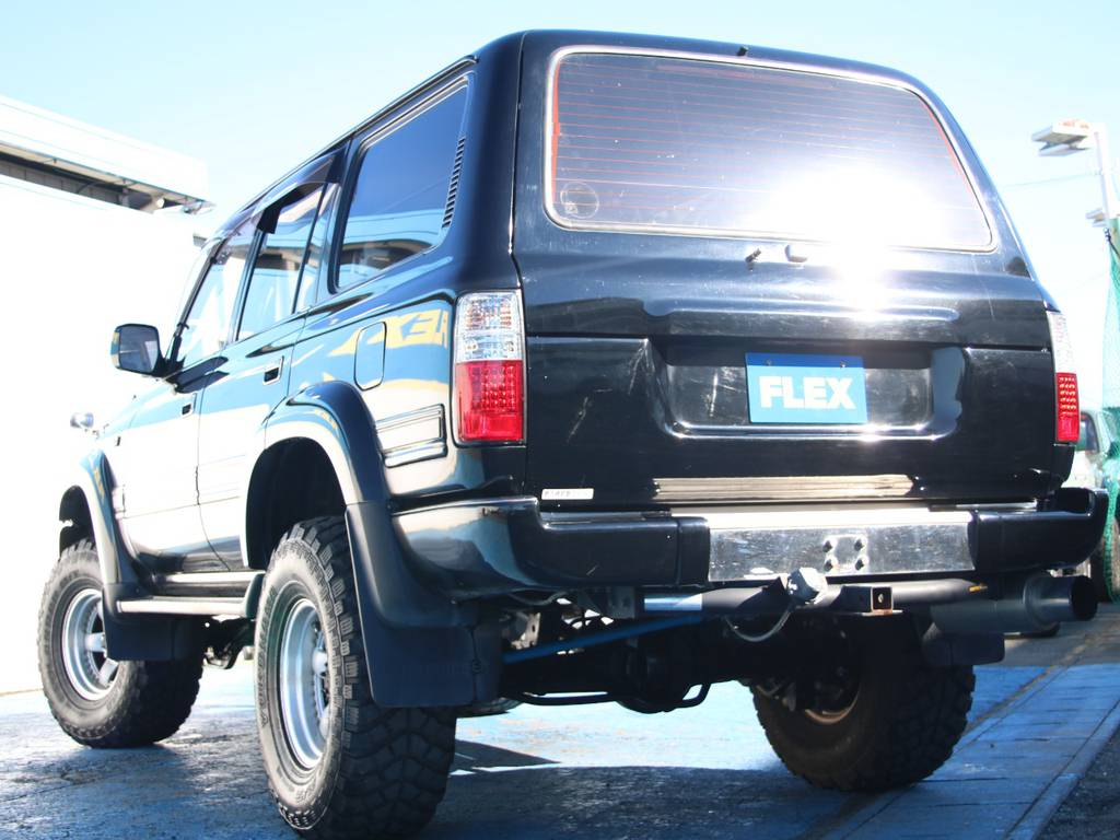 もちろんここからの追加カスタムもご相談下さい☆   トヨタ ランドクルーザー80 4.2 VXリミテッド ディーゼルターボ 4WD