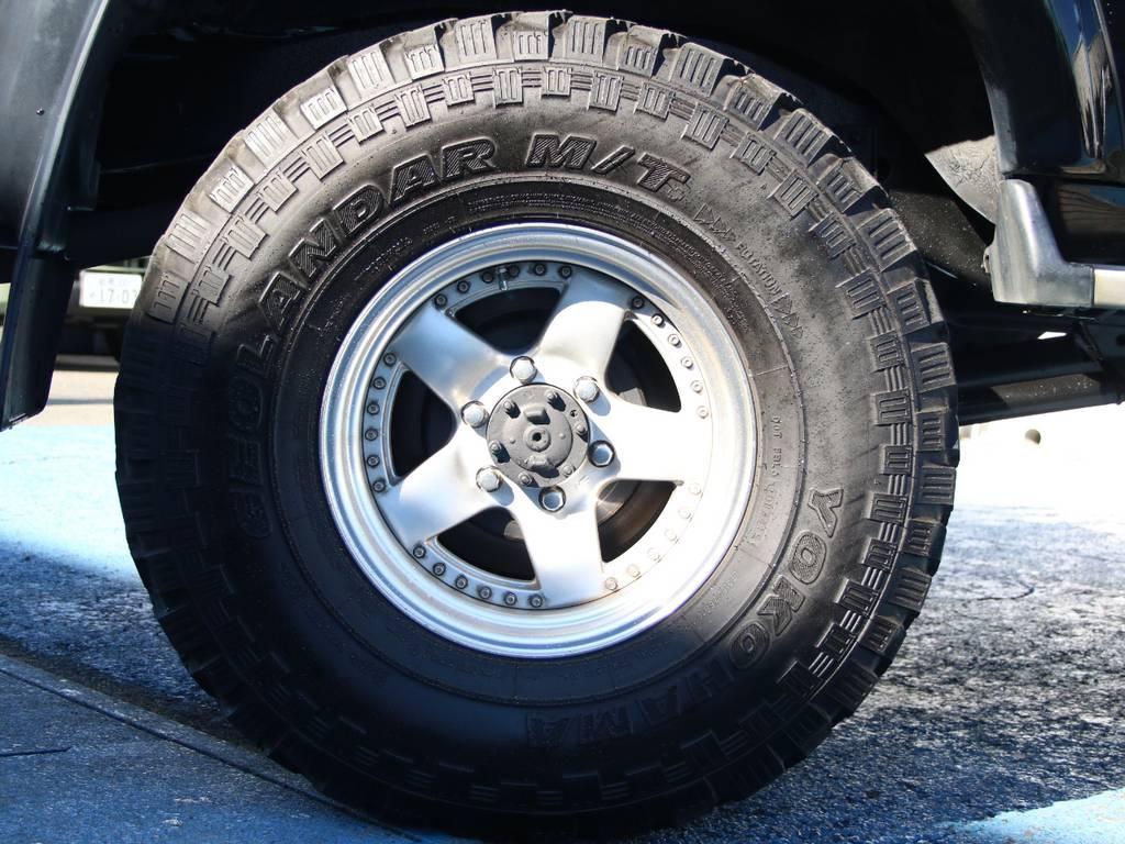 社外16インチAW☆ジオランダー315タイヤ☆   トヨタ ランドクルーザー80 4.2 VXリミテッド ディーゼルターボ 4WD