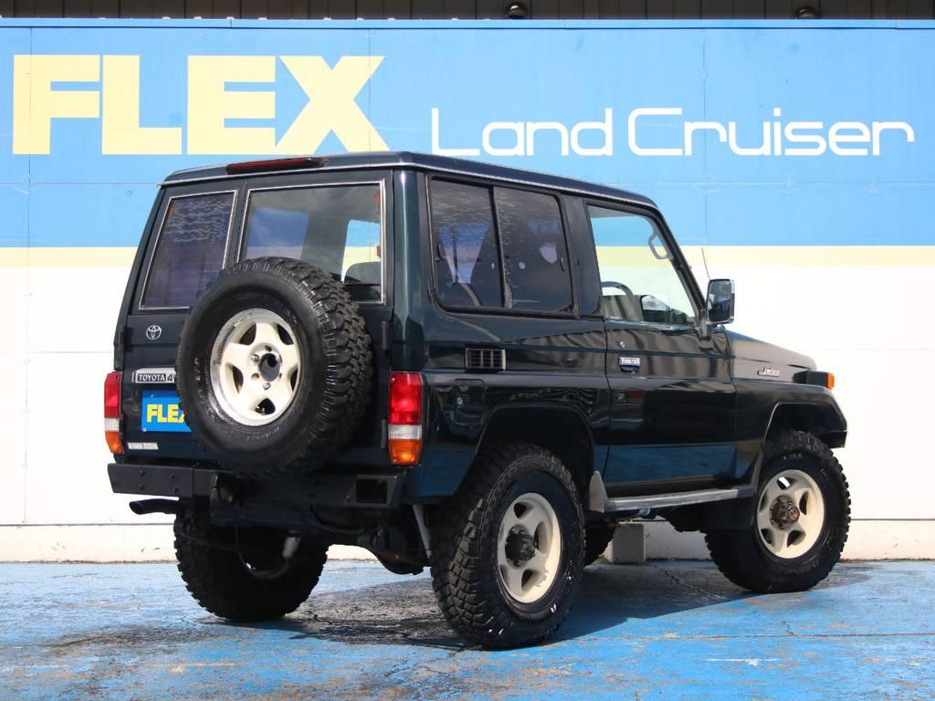 生粋のランクル70☆   トヨタ ランドクルーザー70 4.2 LX ディーゼル 4WD 前後デフロック MT車 クロカンバンパー