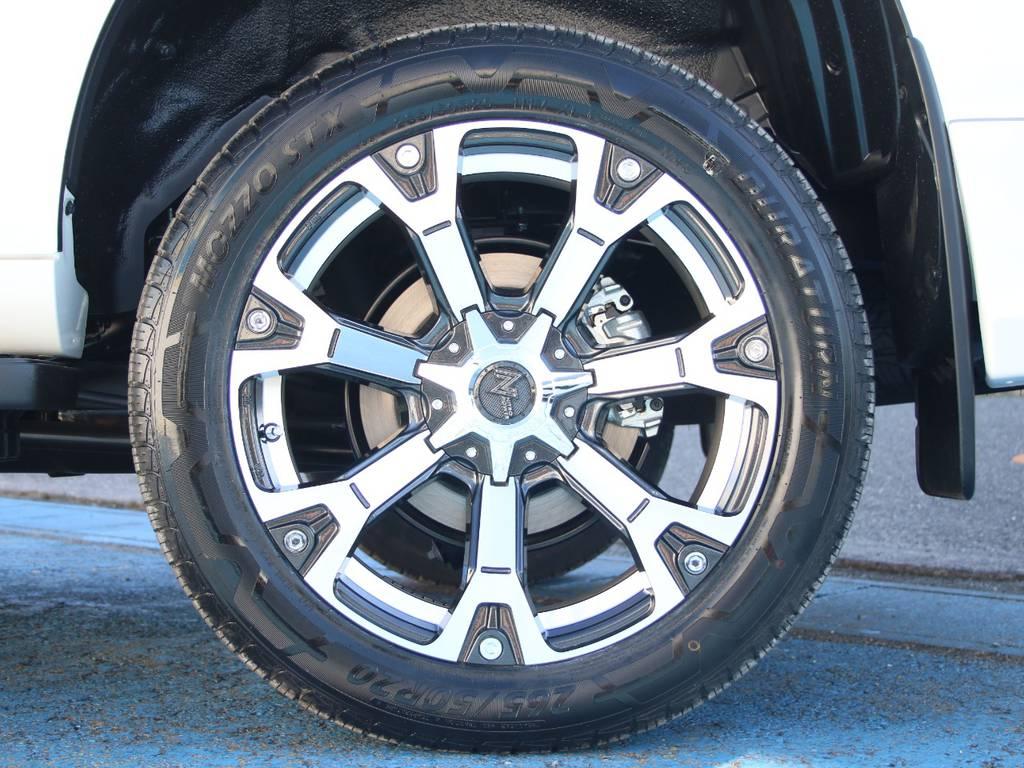 新品ナイトロパワー20インチAW☆新品タイヤ☆   トヨタ ランドクルーザープラド 2.8 TX ディーゼルターボ 4WD 5人 内装ベージュ WALDエアロ