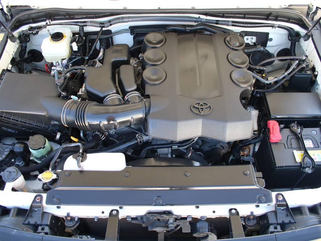 エンジンも快調☆末永くお乗り頂けます☆   トヨタ FJクルーザー 4.0 カラーパッケージ 4WD