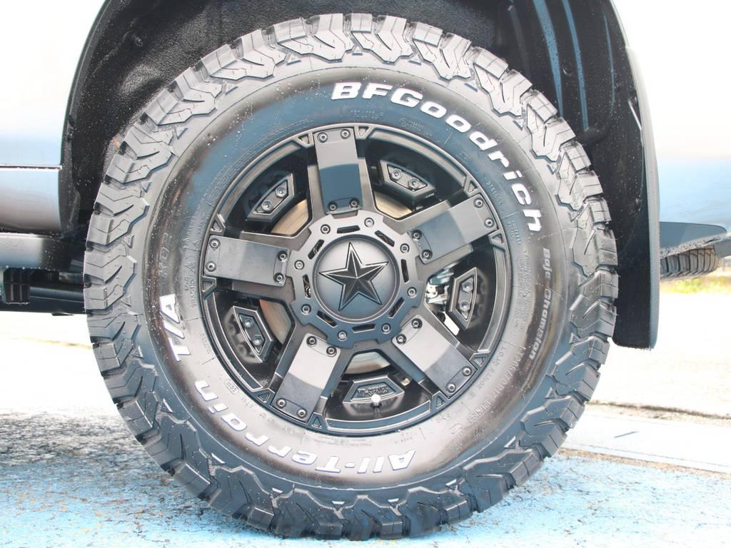 新品KMCロックスター17インチAW☆新品BFG285タイヤ☆ | トヨタ ランドクルーザープラド 2.8 TX ディーゼルターボ 4WD 5人 新車未登録 9インチナビ