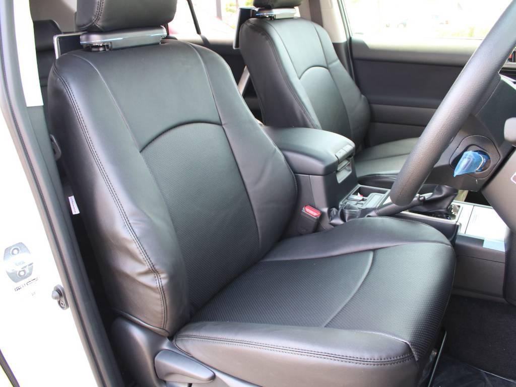 運転席は広々していて長時間の運転も疲労が感じられません☆   トヨタ ランドクルーザープラド 2.8 TX ディーゼルターボ 4WD 5人