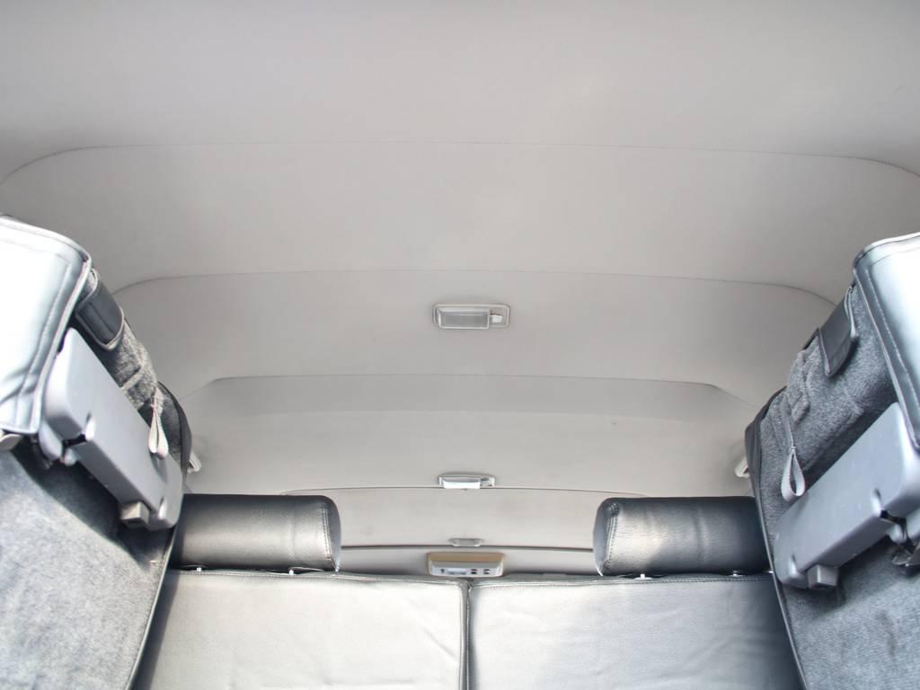 天張りもキレイに保たれております☆   トヨタ ランドクルーザープラド 3.0 EXワイド ディーゼルターボ 4WD