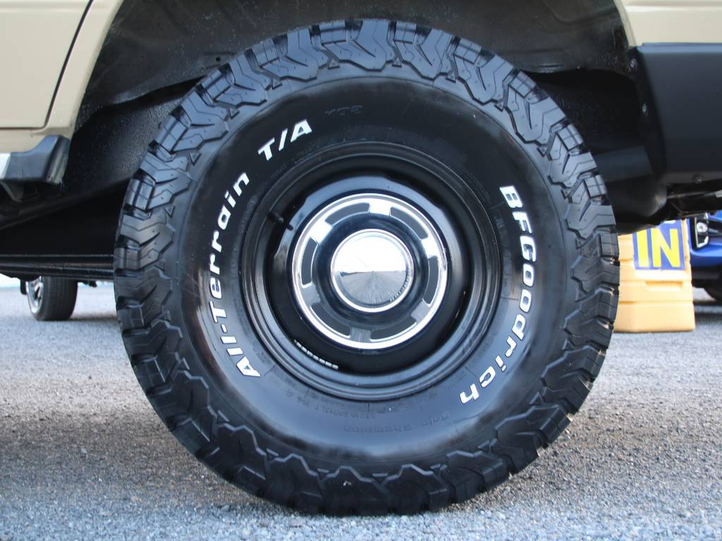新品輸出用15インチホイール☆新品BFG33KO2タイヤ☆   トヨタ ランドクルーザープラド 3.0 EXワイド ディーゼルターボ 4WD