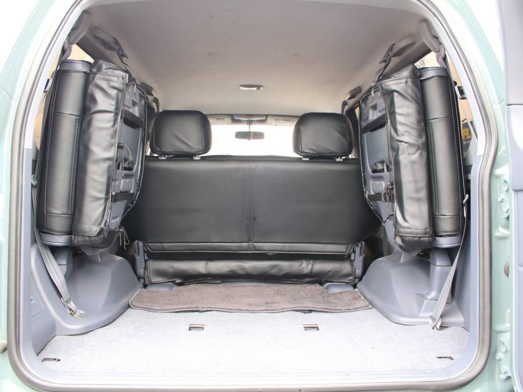 荷室は広々お使い頂けるスペースがございます☆