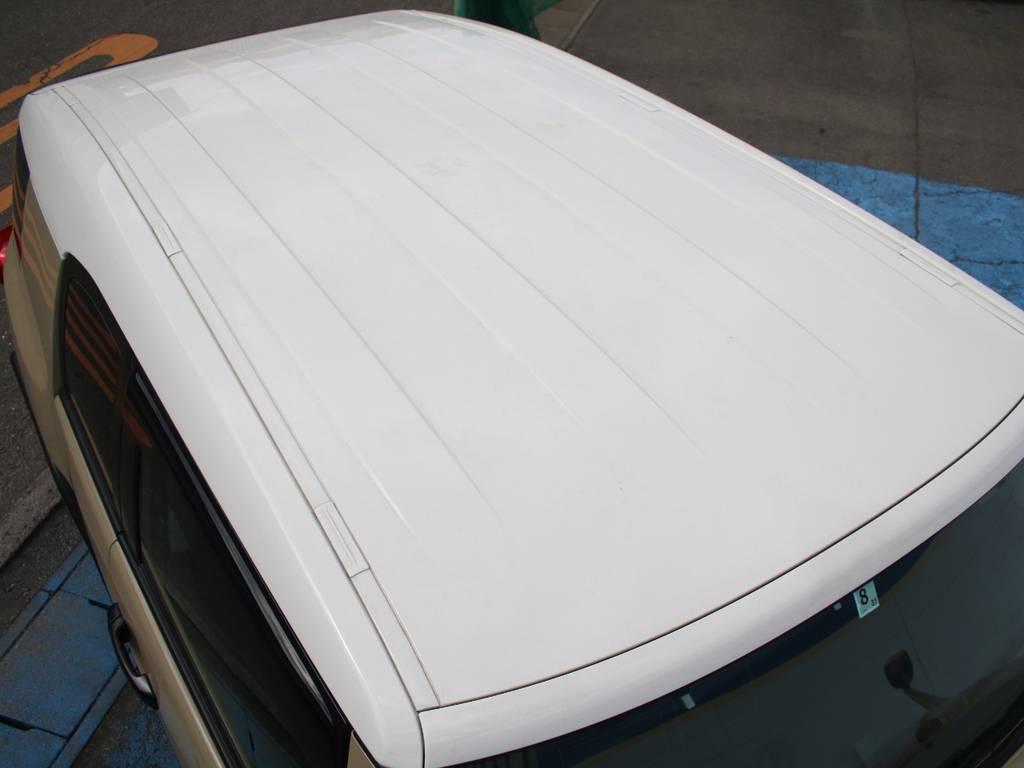 ルーフ面もキレイに保たれております☆ | トヨタ FJクルーザー 4.0 オフロードパッケージ 4WD