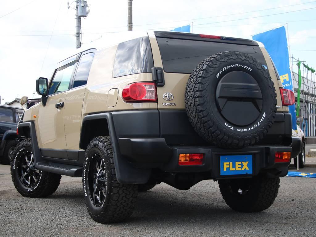 もちろんここからのカスタムもご相談下さい☆ | トヨタ FJクルーザー 4.0 オフロードパッケージ 4WD