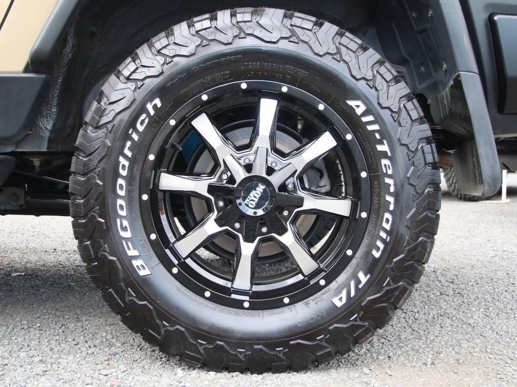 新品社外18インチAW☆新品BFG285タイヤ☆ | トヨタ FJクルーザー 4.0 オフロードパッケージ 4WD