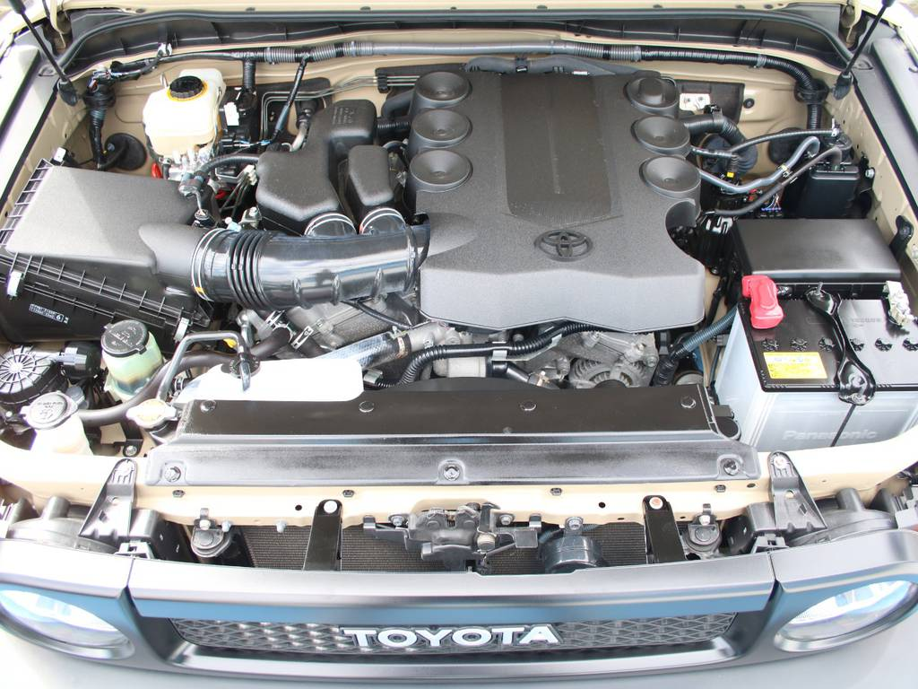 エンジンも快調☆末永くお乗り頂けます☆ | トヨタ FJクルーザー 4.0 オフロードパッケージ 4WD