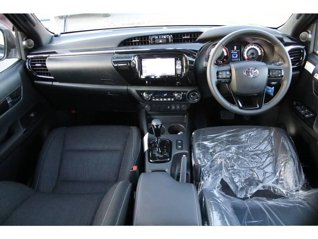 ブラックラリーエディション専用オプティトロンメーター☆ | トヨタ ハイラックス 2.4 Z ブラック ラリー エディション ディーゼルターボ 4WD
