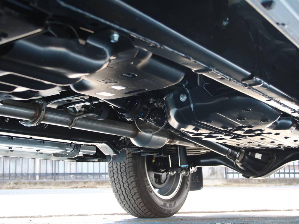 高剛性フレーム☆耐久性ばっちりです☆ | トヨタ ハイラックス 2.4 Z ブラック ラリー エディション ディーゼルターボ 4WD