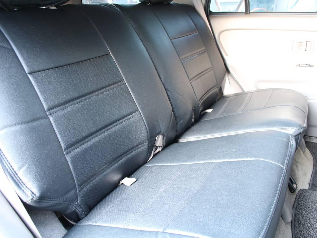 荷室は広々お使い頂けるスペースがございます☆ | トヨタ ハイラックスサーフ 2.7 SSR-X 4WD 背面レス リフトアップ MGホイール
