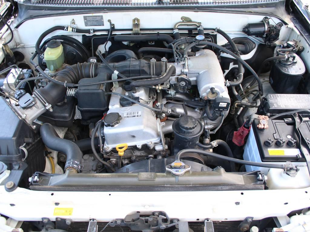 エンジンも快調☆末永くお乗り頂けます☆ | トヨタ ハイラックスサーフ 2.7 SSR-X 4WD 背面レス リフトアップ MGホイール
