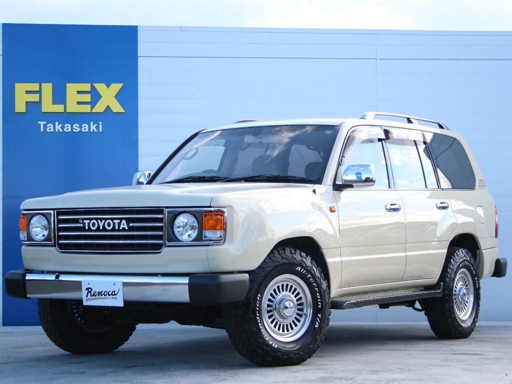 トヨタ ランドクルーザー100 4.7 VXリミテッド 4WD FLEXオリジナルフェイス