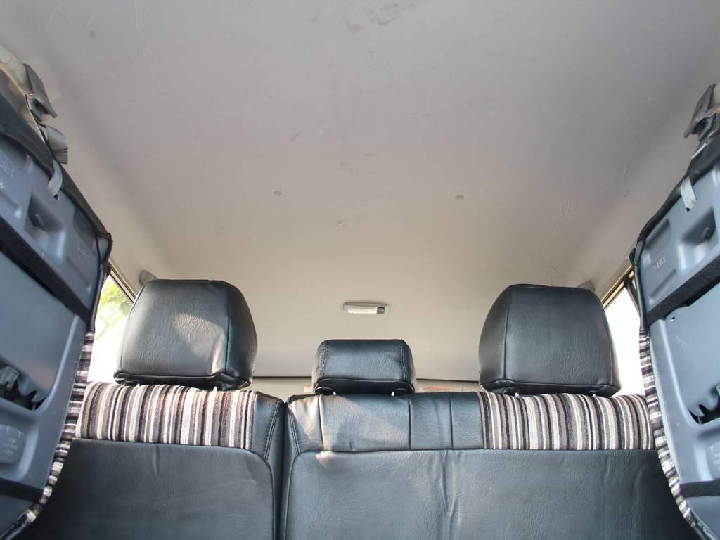 天張りもキレイに保たれております☆ | トヨタ ランドクルーザープラド 2.7 TX リミテッド 4WD 後期型 イモビ付きモデル