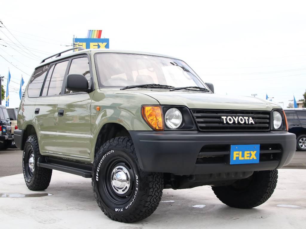 人気急上昇中の95プラド、新入庫です☆ | トヨタ ランドクルーザープラド 2.7 TX リミテッド 4WD 後期型 イモビ付きモデル