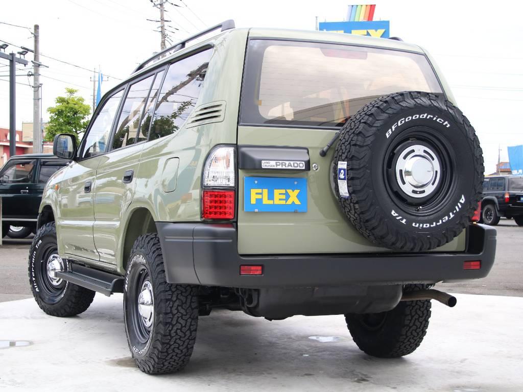 もちろんここからの追加カスタムもご相談下さい☆ | トヨタ ランドクルーザープラド 2.7 TX リミテッド 4WD 後期型 イモビ付きモデル