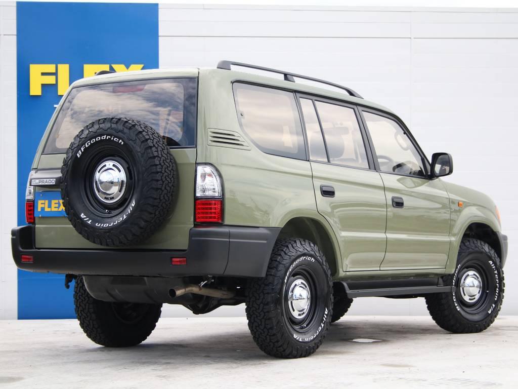 ノーマル車高です☆ | トヨタ ランドクルーザープラド 2.7 TX リミテッド 4WD 後期型 イモビ付きモデル