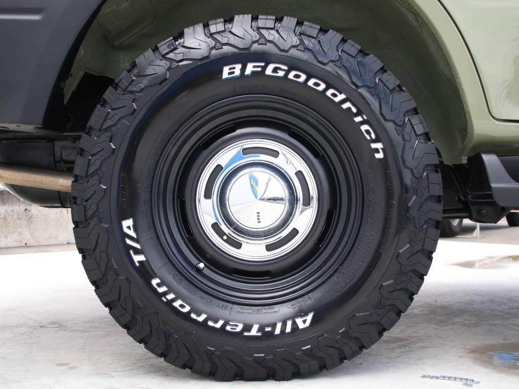 新品DEAN16インチAW☆新品BFG235KO2タイヤ☆ | トヨタ ランドクルーザープラド 2.7 TX リミテッド 4WD 後期型 イモビ付きモデル