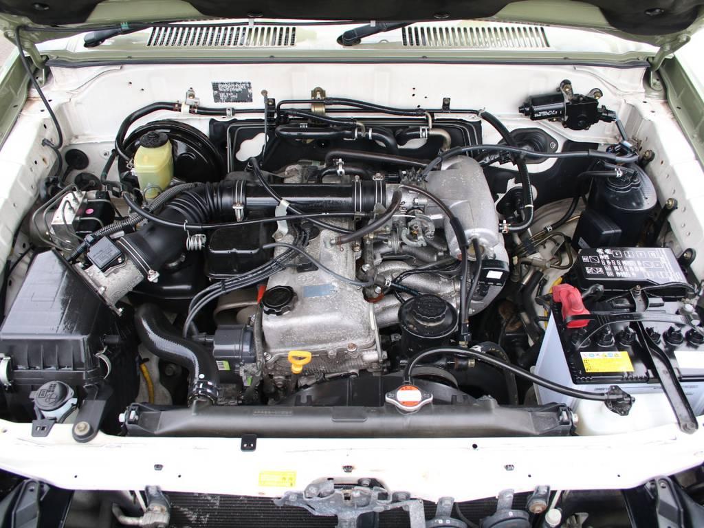 エンジンも快調☆キレイに保たれております☆ | トヨタ ランドクルーザープラド 2.7 TX リミテッド 4WD 後期型 イモビ付きモデル